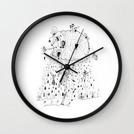 Cloud tale Wall Clock
