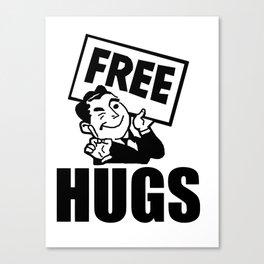 Free Hugs! Canvas Print