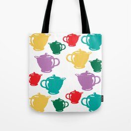 Favoriteware Teapots Tote Bag