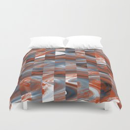Abstract 458 Duvet Cover