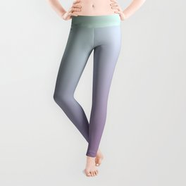 SLEEPYHEAD - Minimal Plain Soft Mood Color Blend Prints Leggings
