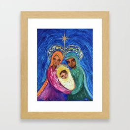 A Baby Changes Everything Framed Art Print