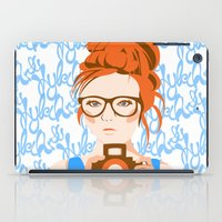photographer iPad Cases featuring Photographer by KylaArt