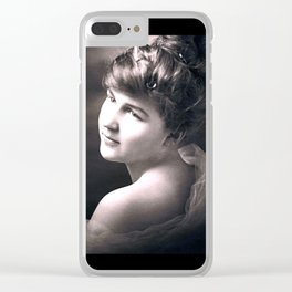 Thelma, the Romantic Clear iPhone Case
