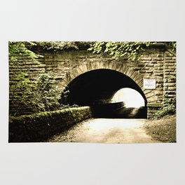 Bridge at Howley Mill Lane Rug