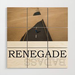 Renegade Wood Wall Art