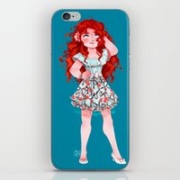 merida iPhone & iPod Skins featuring Merida  by Kiome-Yasha
