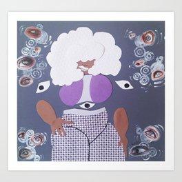 The Eye Witch Art Print