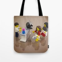 shopping Tote Bags featuring Shopping by Pedro Nogueira
