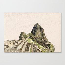 ArtWork Painting Machu Picchu Peru Paint Art Print Canvas Print