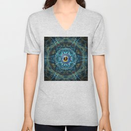 """Om Namah Shivaya"" Mantra- The True Identity- Your self Unisex V-Neck"