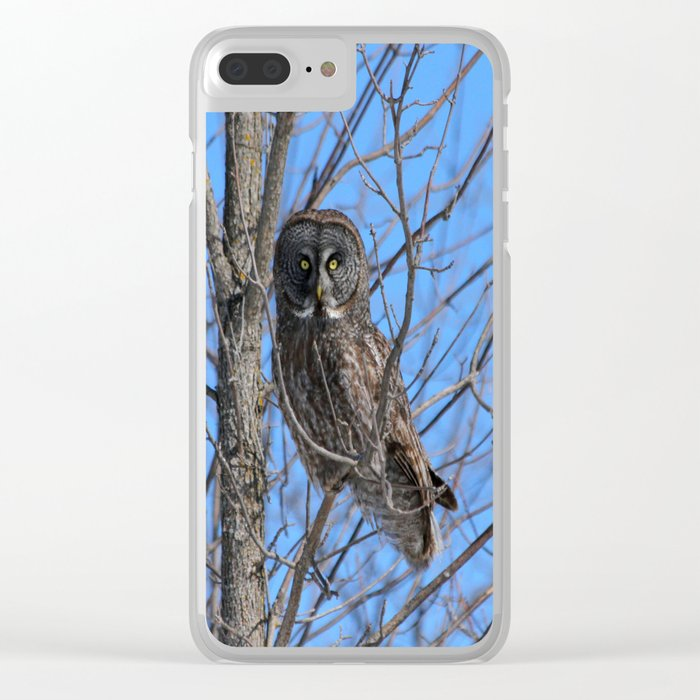 Who goes there Clear iPhone Case