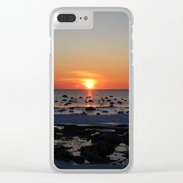 Winter Sun Clear iPhone Case