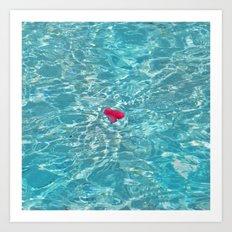Petal Pool Art Print