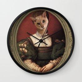 Minette Tristounette Wall Clock