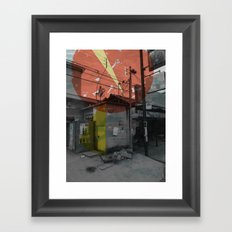 costa rica 3 Framed Art Print