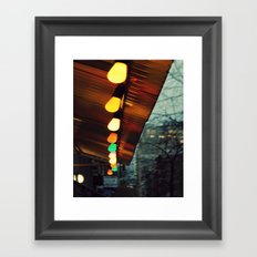Caminando por New York Framed Art Print