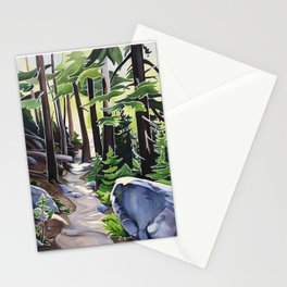 Stay on the Path Stationery Cards