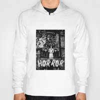 horror Hoodies featuring Horror by alexflasher
