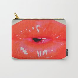 Hot Flash Pouty Lips Carry-All Pouch