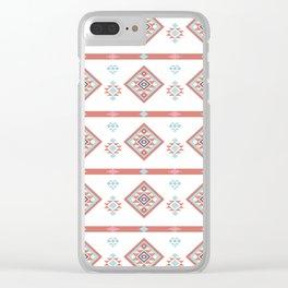 AFE Geometric Tribal Clear iPhone Case