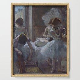 "Edgar Degas ""Dancers"" Serving Tray"