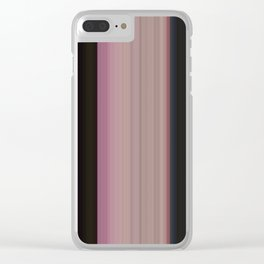 Tones of Water Lilies Clear iPhone Case