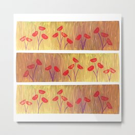 Spring Flings Metal Print