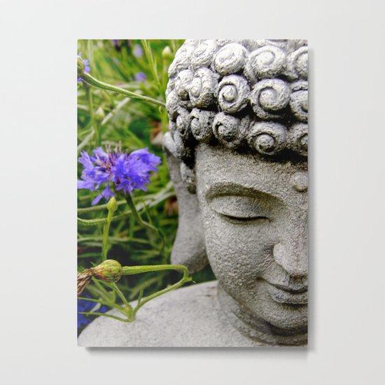 Peace Through Flowers Metal Print
