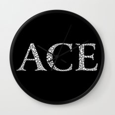 Ace of Spades - Variant Wall Clock
