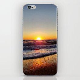 Off-Season Sunset iPhone Skin
