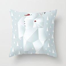 Winter Freez Throw Pillow