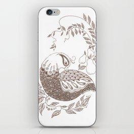 Partridge iPhone Skin