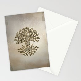 The celtic tree Stationery Cards