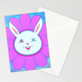 Ouch Bunny Flower Power! Stationery Cards