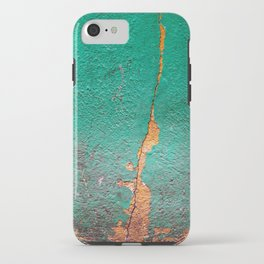 Cracked wall iPhone Case