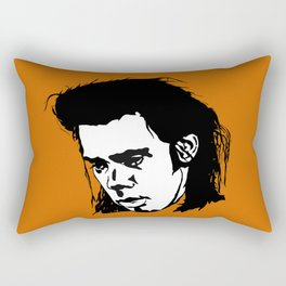 Sad Nick Cave Rectangular Pillow