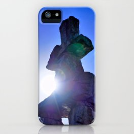 Inukshuk Monument Vancouver iPhone Case