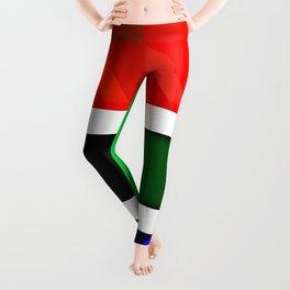African flag Leggings