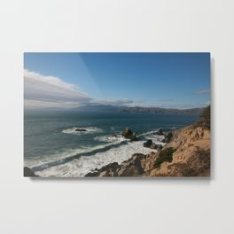 Coast of San Francisco Metal Print
