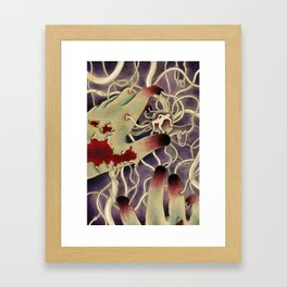 The Reach Framed Art Print
