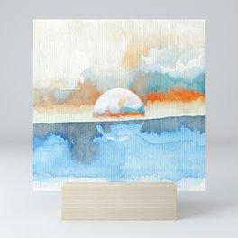 Orange Sea Drop Mini Art Print