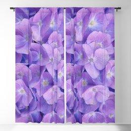 Hydrangea lilac Blackout Curtain