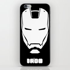 IRON MONOCHROME iPhone & iPod Skin