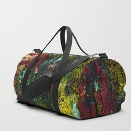 texture paint peeling weathered Duffle Bag