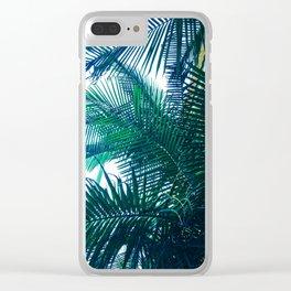 da palms. Clear iPhone Case