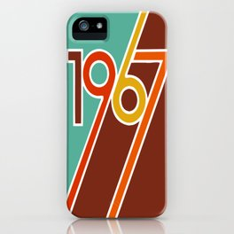 VINTAGE 1967 Pop Art by BruceALMIGHTY iPhone Case