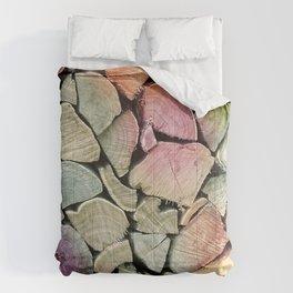 colorful wood Comforters