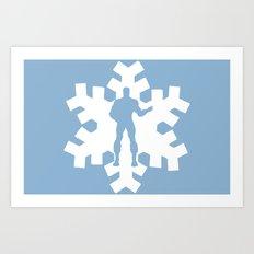 Iceman Art Print
