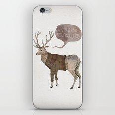 Repeat the Sounding Joy iPhone & iPod Skin